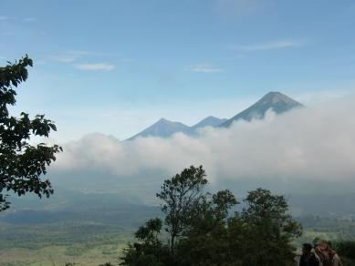 View from Pacaya vulcano