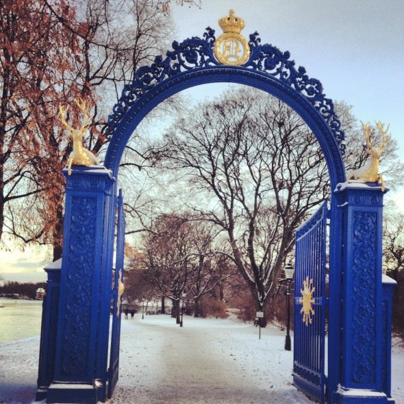 Blå porten Djurgården