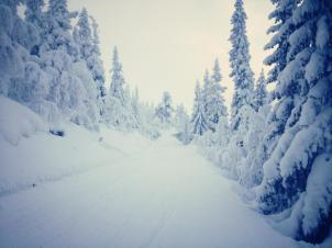Tandådalen snö