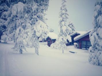 Sälen snö i massor