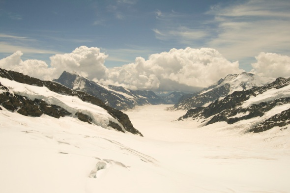 Glacier Schweiz Oberland