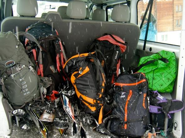 Ryggsäckar för topptur