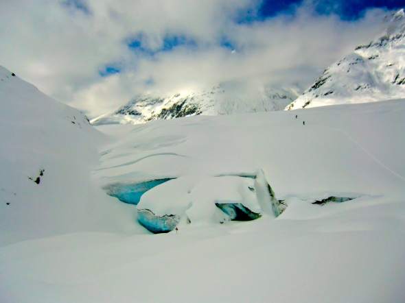 Glaciär Schweiz