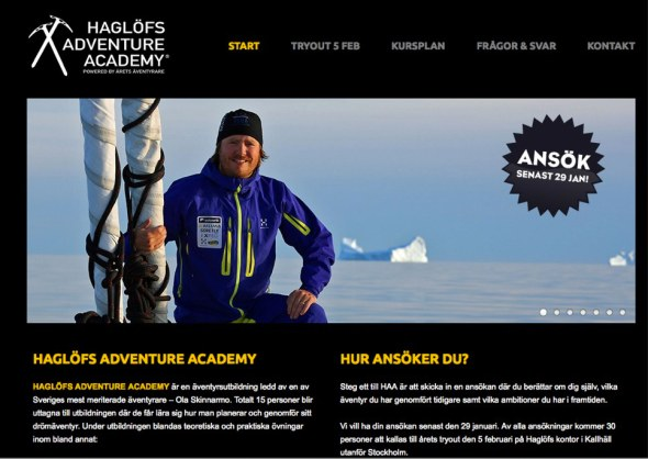 Haglöfs Adventure Academy - Haglöfs Adventure Academy
