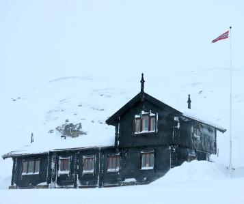 Här bor man gott mitt i snön
