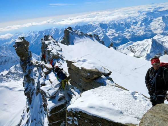 Bergskammen Gran Paradiso