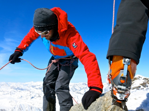 Veckans höjdpunkt, bestigning av toppen Gran Paradiso