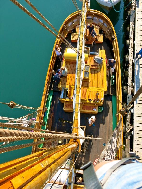 Utsikt från masten