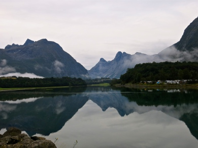 Tidig morgon I Åndalsnes