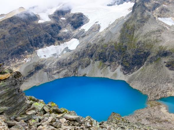 Tog galet mycket bilder på dessa blåa glaciärsjöar, kan inte få nog