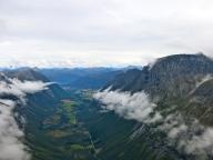 Romsdalen från ovan