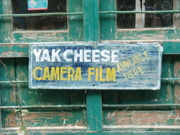 Yak cheese and Camera film